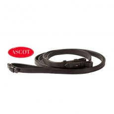 Ascot Polo Plain Reins Buckle