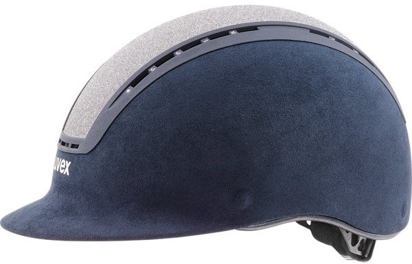 Uvex Uvex Suxxeed Glamour Riding Helmet Blue/Silver