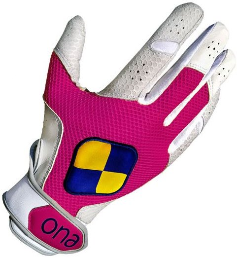Ona Speed Polo Gloves in pink